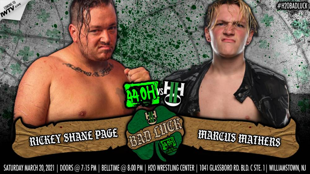 H2O Wrestling 3/20/2021 Bad Luck Results - PWPonderings